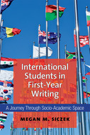 International Students in First-Year Writing Book Cover